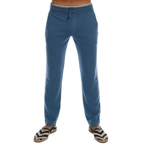Blue Cashmere Gym Training Sport Men's Pants