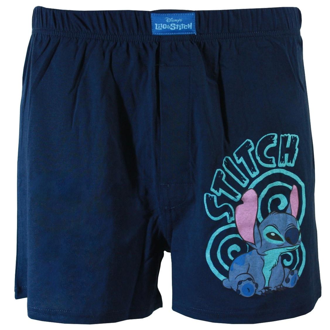 Disney Lilo /& Stitch Blue Cove Cozy Knit Jogger Sleep Pants