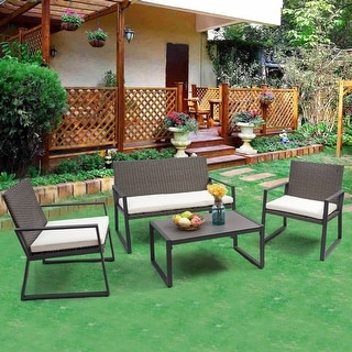 Rattan Patio Furniture | Find Great Outdoor Seating U0026 Dining Deals Shopping  At Overstock.com