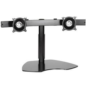 Chief Manufacturing - Flat Panel Dual Horizontal Monitor Table Stand