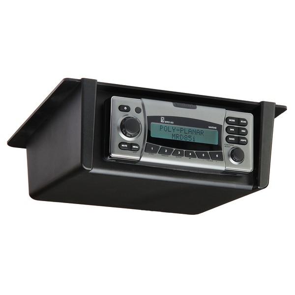 Poly-Planar Radio Mount Underdash/Overhead - Black