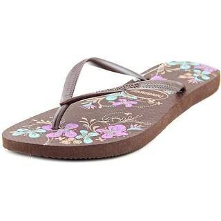 Havaianas Slim Season Open Toe Synthetic Flip Flop Sandal
