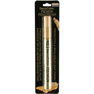 DecoColor Premium Chisel Paint Marker-Gold - gold