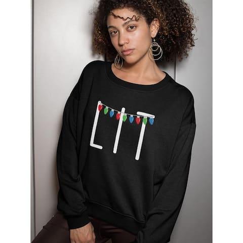Lit Christmas Women's Sweatshirt