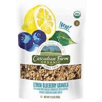 Cascadian Farm  11.5 oz Organic Lemon Blueberry Granola - Case of 4