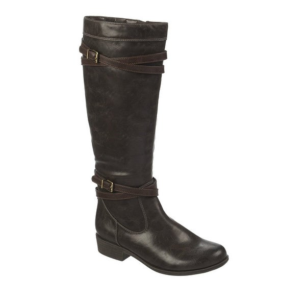 Naturalizer Womens Victorious Closed Toe Mid-Calf Fashion Boots