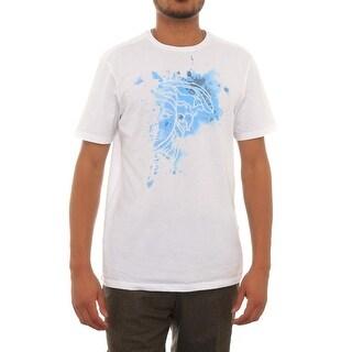 Versace Short Sleeve Crew Neck Tee Men Regular Graphic T-Shirt