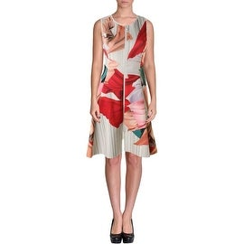 Clover Canyon Womens Neoprene Knee Length Wear to Work Dress - S