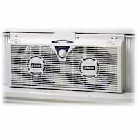 Lasko 2138 8″ Electrically Reversible Twin Window Fan