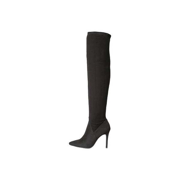 Jessica Simpson Womens loring Suede Pointed Toe Over Knee Fashion Boots - 6