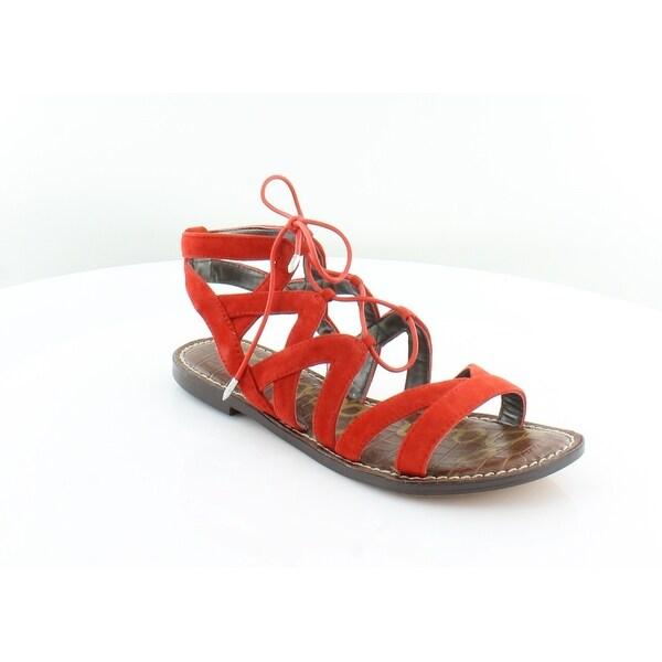 Sam Edelman Gemma Women's Sandals BloodORNG - 6.5