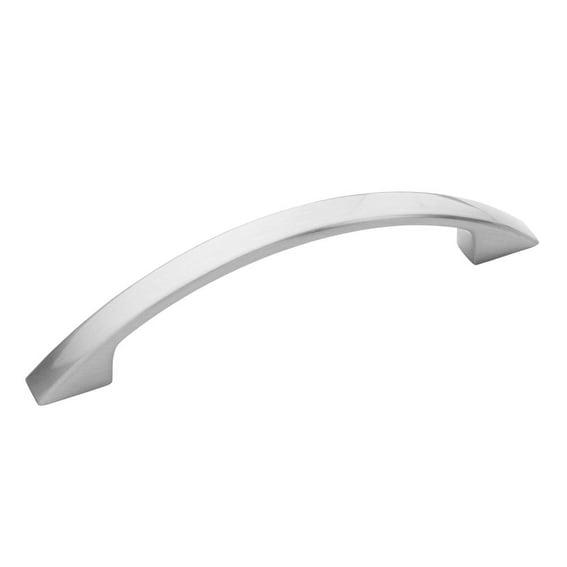 Amerock BP52996G10 Flat Arch Cabinet Pull, 96mm CTC, Satin Nickel