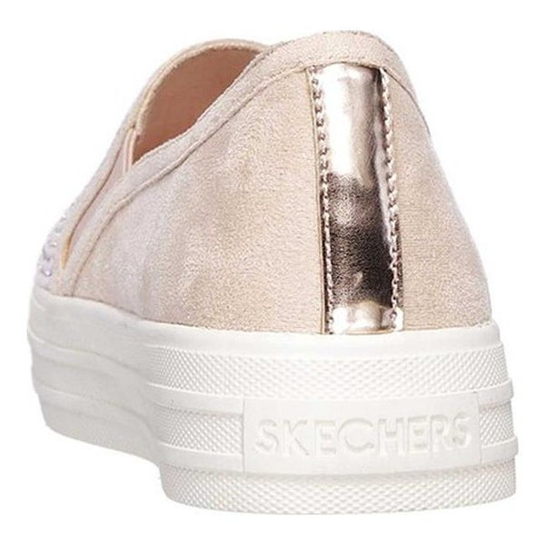 Shop Skechers Women's Double Up Shimmer Shaker Slip On