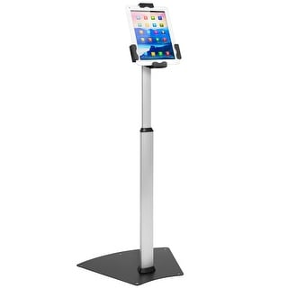 Mount-It! Anti-Theft Universal Tablet Floor Stand Kiosk, 7.9 Inch - 10.5 Inch Tablets