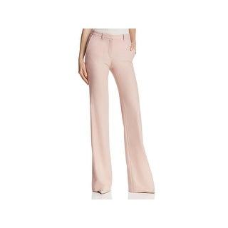 Theory Womens Demitria 2 Dress Pants Wool Wide Leg