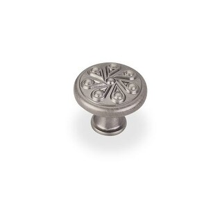 Elements 323 Luxe 1-3/8 Inch Diameter Mushroom Cabinet Knob