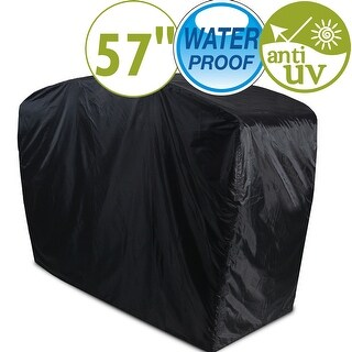 "57"" Gas Grill Cover BBQ Canopy Waterproof Dustproof Anti UV Outdoor Heavy Duty Covers"