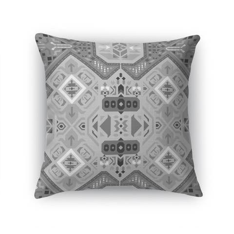 ABADEH CHARCOAL Accent Pillow By Kavka Designs