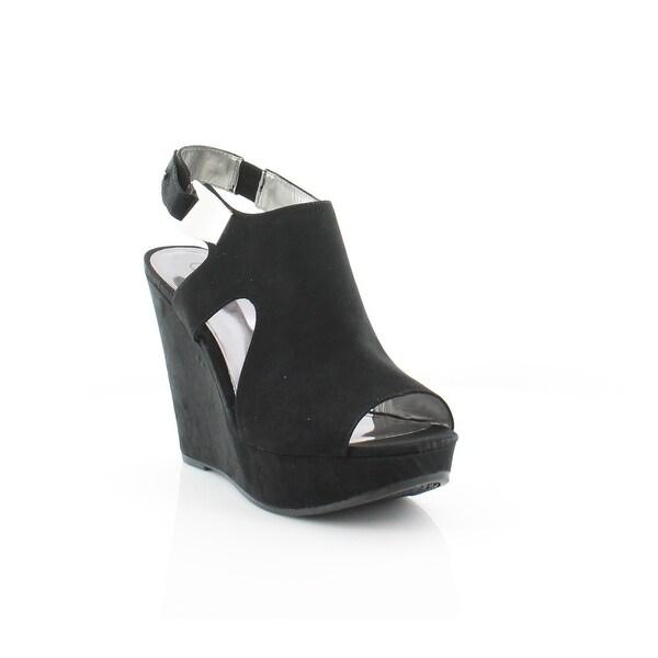 Carlos Santana Malor Women's Sandals & Flip Flops BLK - 10