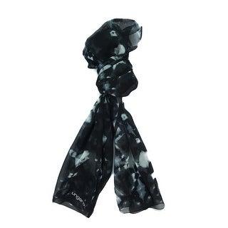 Ungaro UN7018 S7789 Tie Dye Print Smoke Silk Scarf