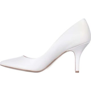 INC International Concepts Womens Zitah Leather Closed Toe Classic Pumps