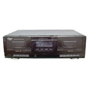 Pyle Audio PYRPT659DUB Pyle PT659DU Dual Stereo Cassette Deck with Tape USB to MP3 Converter