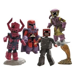 "Marvel Minimates 2"" Zombie Villain Action Figure Box Set of 4"