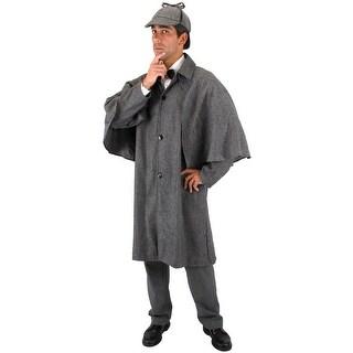 Elope Sherlock Jacket Adult Costume - Solid - Standard