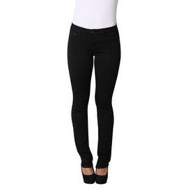 Lola Classic Straight Jeans, Kristine-BLK
