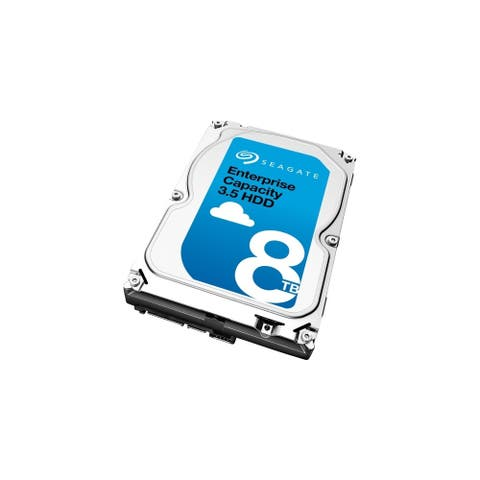 Seagate Technology ST8000NM0045 Seagate Enterprise ST8000NM0045 8 TB 3.5 Internal Hard Drive - SATA - 7200 - 256 MB Buffer