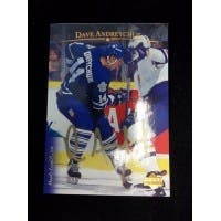 Signed Andreychuk Dave Toronto Maple Leafs 1996 Upper Deck Hockey Card autographed