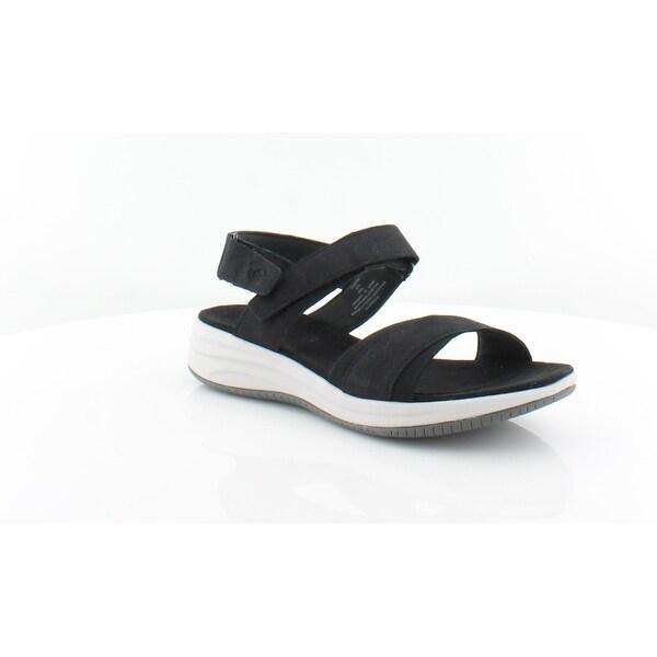 Shop Easy Spirit Draco 3 Women s Sandals Black 001 - 7.5 - Free ... a4e47584c