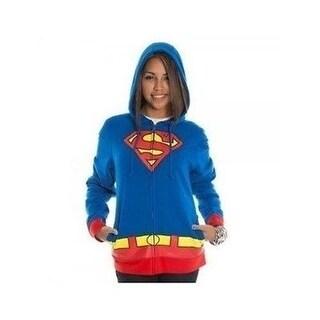 Supergirl Logo Juniors Hoody Hooded Sweatshirt