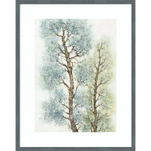 Tranquil Tree Tops I by Tim O'Toole 23-inch x 29-inch Framed Wall Art Print