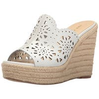 Nine West Womens derek Leather Open Toe Casual Platform Sandals