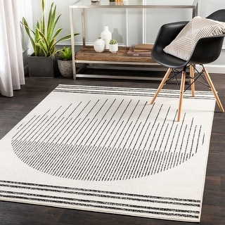 Link to Joel Mod Ombre Geometric Area Rug Similar Items in Transitional Rugs