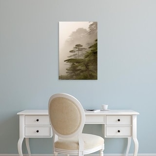 Easy Art Prints Adam Jones's 'Yellow Mountain' Premium Canvas Art