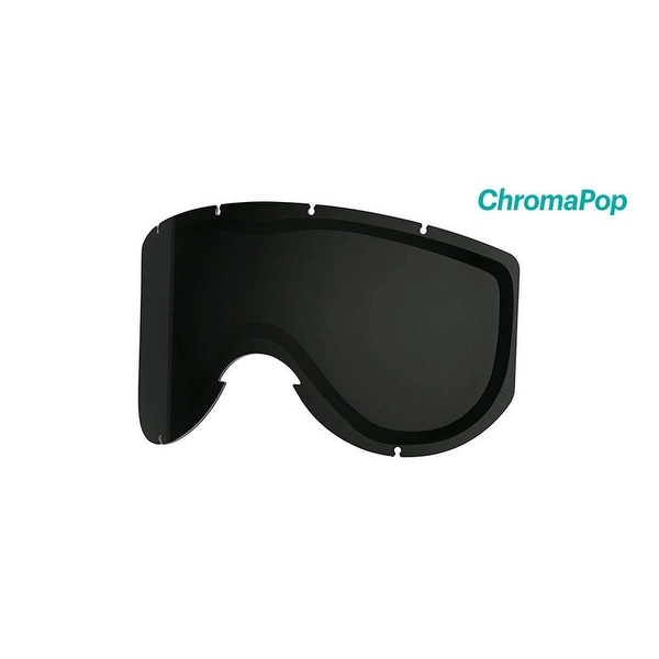 8c7c46b0c5ce Shop Smith Optics Knowledge Turbo Ski Goggle - Replacement Lens - ChromaPop  Sun Black - KN5CPB2 - Free Shipping Today - Overstock - 20657933