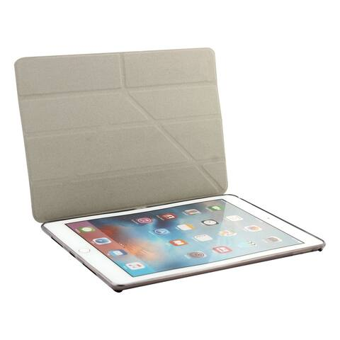 Black PU Leather Soft Back Foldable Protect Cover Case for iPad Pro 9.7 Inch