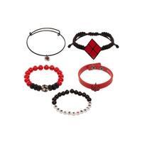 DC Harley Quinn Arm Party Bracelet Set
