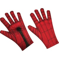 Spider-Man Homecoming Spiderman Adult Gloves Costume Accessory - Red