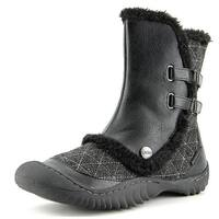 JBU by Jambu Iceburg Women  Round Toe Canvas Black Winter Boot