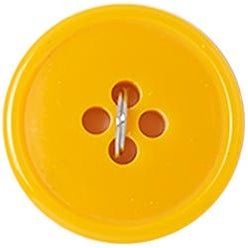 "Yellow 4-Hole 3/4"" 3/Pkg - Slimline Buttons Series 1"