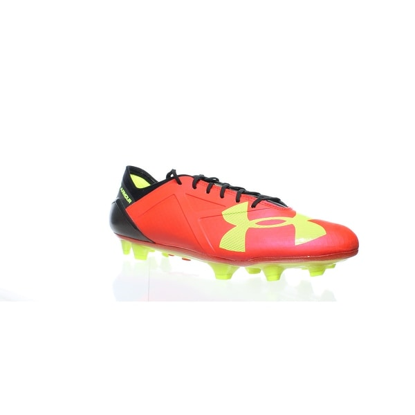 eb7f49c6c382 Shop Under Armour Mens Spotlight Fg Red Football Cleats Size 12 - On ...