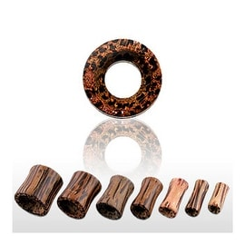 Natural Coco Wood Hollow Saddle Tunnels (Sold Individually)