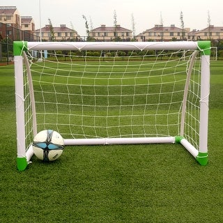 Link to Soccer Goal Training Set with Net Buckles Ground Nail Football Sports Similar Items in Team Sports Equipment