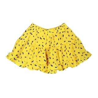 Richie House Girls' Orange Bluejay Skirt