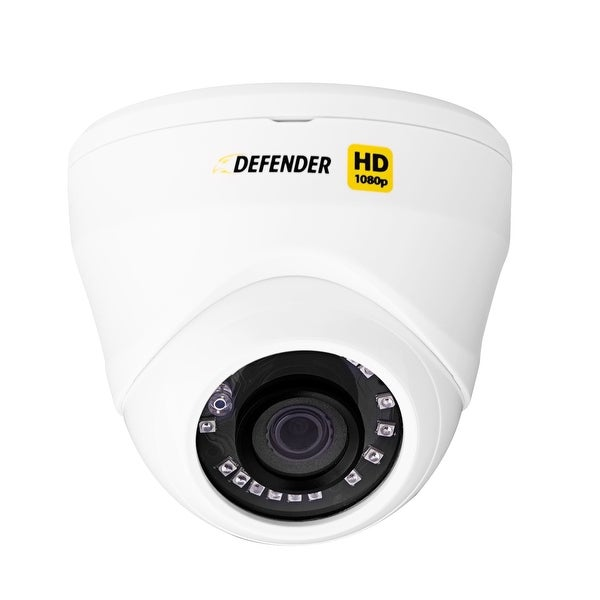 Defender HD 1080p Indoor/Outdoor Long Range Night Vision Dome Security Camera