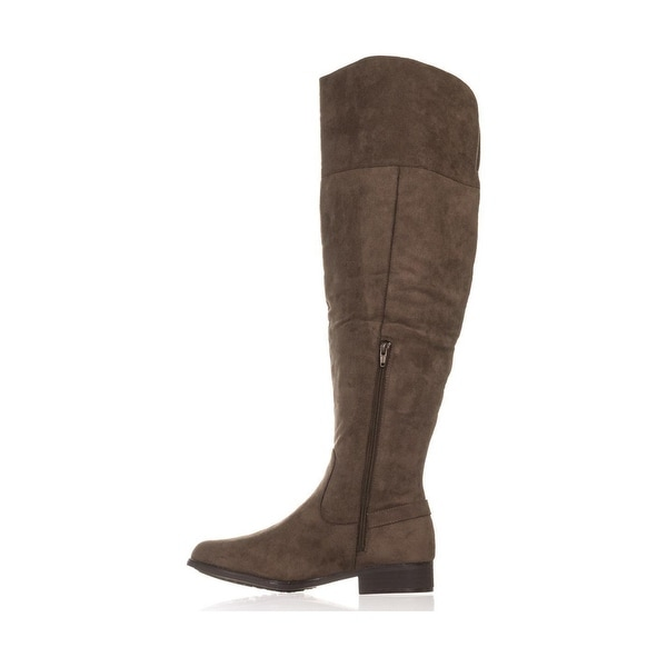 679676e4dc4 American Rag Womens Adarra Suede Closed Toe Knee High Cold Weather Boots