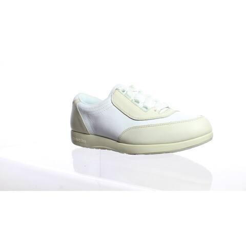 Hush Puppies Womens Upbeat Beige Walking Shoes Size 8.5 (2E)